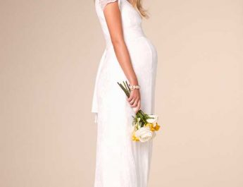 The Nursing Wedding Dress by Tiffany Rose