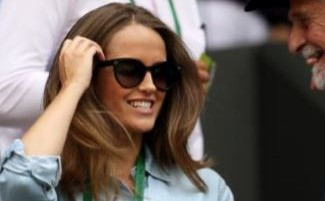 Kim Sears wearing Seraphine