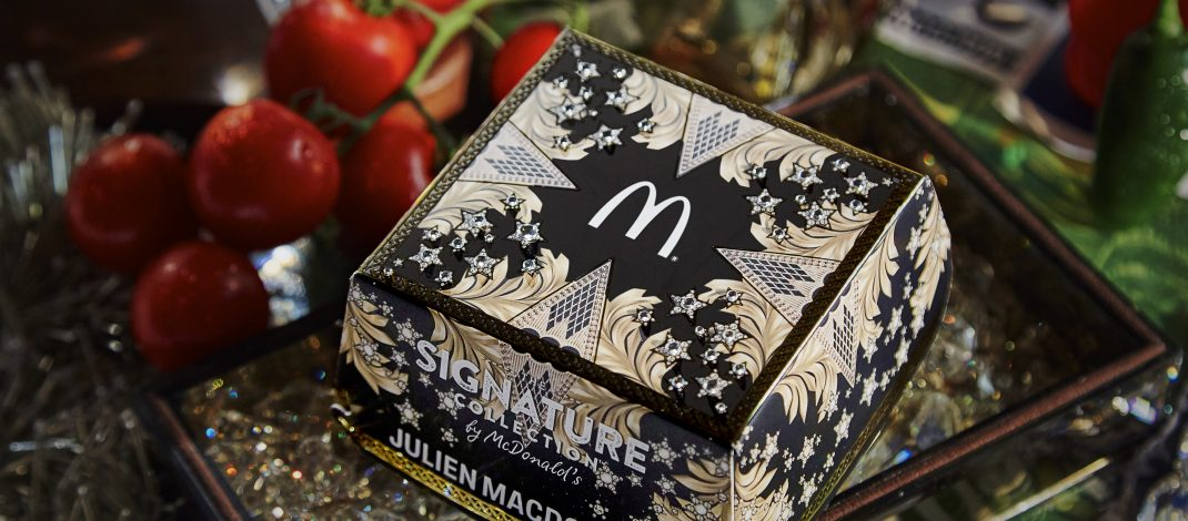 MCDONALD'S UK COLLABORATION WITH DESIGNER, JULIEN MACDONALD