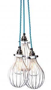 factorylux-white-balloon-light-bulb-cages-with-bright-blue-lighting-cable-cage-only-price-55-84-complete-assembled-pendants-from-103-88-inc-vat-delivery-www-urbancottageindustries-com