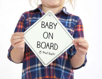 WIN a Malibabi Baby/Child-On-Board Sign! *CLOSED*