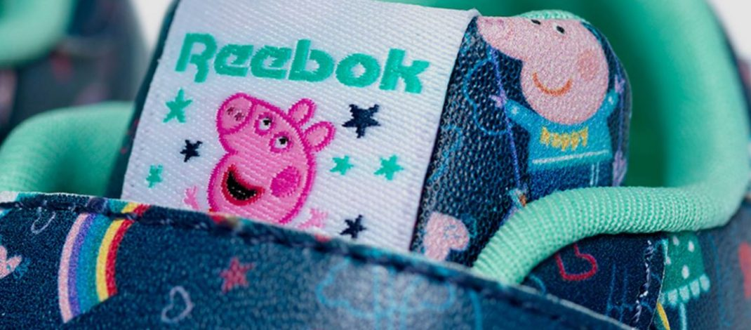 Reebok launch second Reebok x Peppa Pig  collection with Hasbro